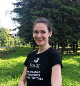 победитель забега - Анна Гранкина